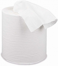 1ply White Centrefeed Roll