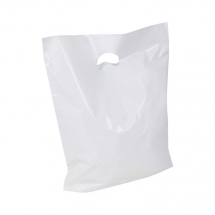 14 x 14 x 4inch Low Density Plastic Carrier Bags