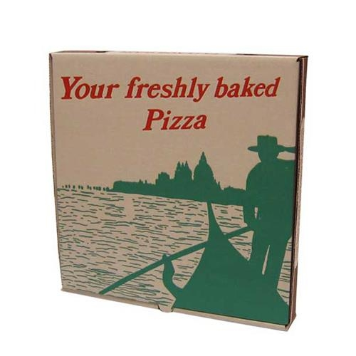 12inch Stock Design Corrugated Pizza Boxes