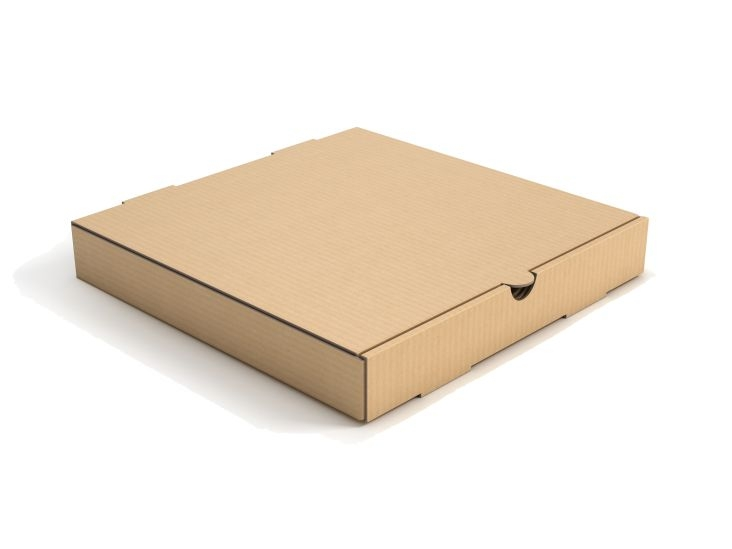 12inch Plain Brown Kraft Corrugated Pizza Boxes