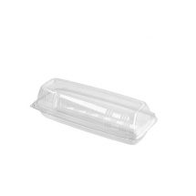 9inch Plastic Hinged Baguette Packs