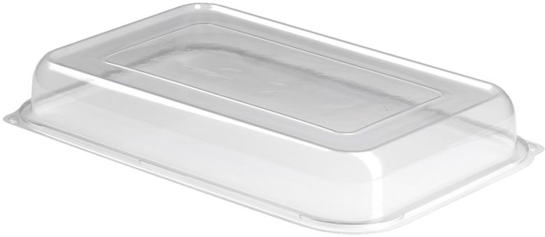 Anson Large Rectangular Platter Clear Lids