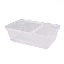 500ml Microwavable Containers & Lids