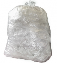 Clear Compactor Sack 20 x 38 x 45inch 20kg