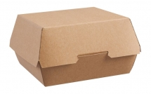 Brown Kraft Large Clamshell Boxes