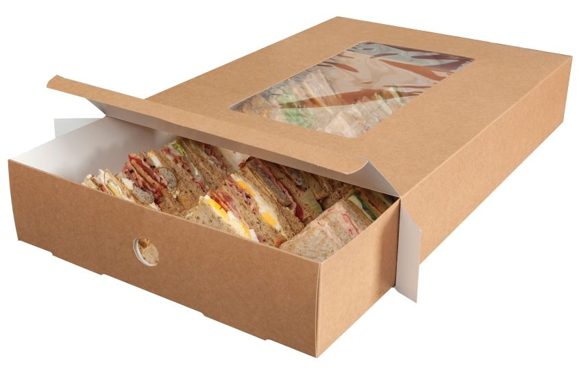Large Platter Boxes With Full Tray Inserts