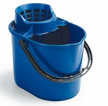 12L Deluxe Mop Bucket - Blue