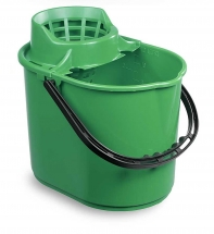 12L Deluxe Mop Bucket - Green