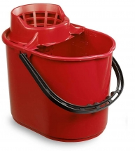 12L Deluxe Mop Bucket - Red