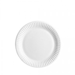 "6"" / 15cm Uncoated Snack Paper Plates"