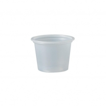 1oz / 30ml Solo Plastic Souffle / Portion Pots