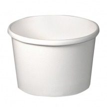 Solo 8oz White Paper HD Food / Soup Containers