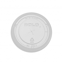 Solo Ultra Clear Straw Slot Lids
