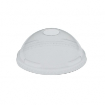 Solo Ultra Clear Domed Lids (With Hole)