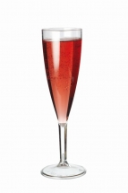 125ml to Line Clarity Champagne Flutes (CE Marked)