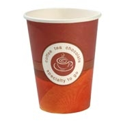 12oz Single Wall 'Specialty' Paper Hot Cups
