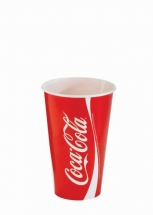 12oz 'Coca Cola' Design Paper Cold Cups