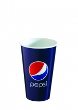 12oz 'Pepsi' Design Paper Cold Cups