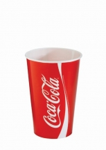 16oz 'Coca Cola' Design Paper Cold Cups