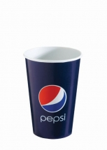 16oz 'Pepsi' Design Paper Cold Cups