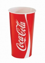 22oz 'Coca Cola' Design Paper Cold Cups