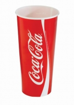 32oz 'Coca Cola' Design Paper Cold Cups