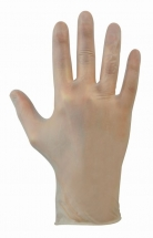 Clear Powder Free Vinyl Gloves - Large