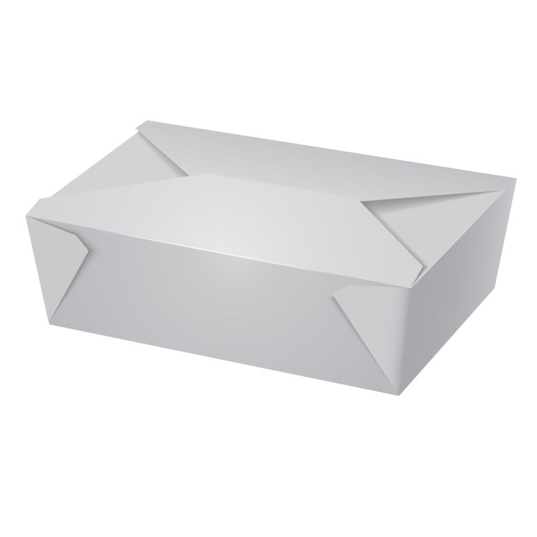 No.8 White Board Leakproof containers